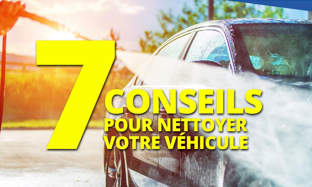 7 conseils pour nettoyer l'intérieur de votre véhicule